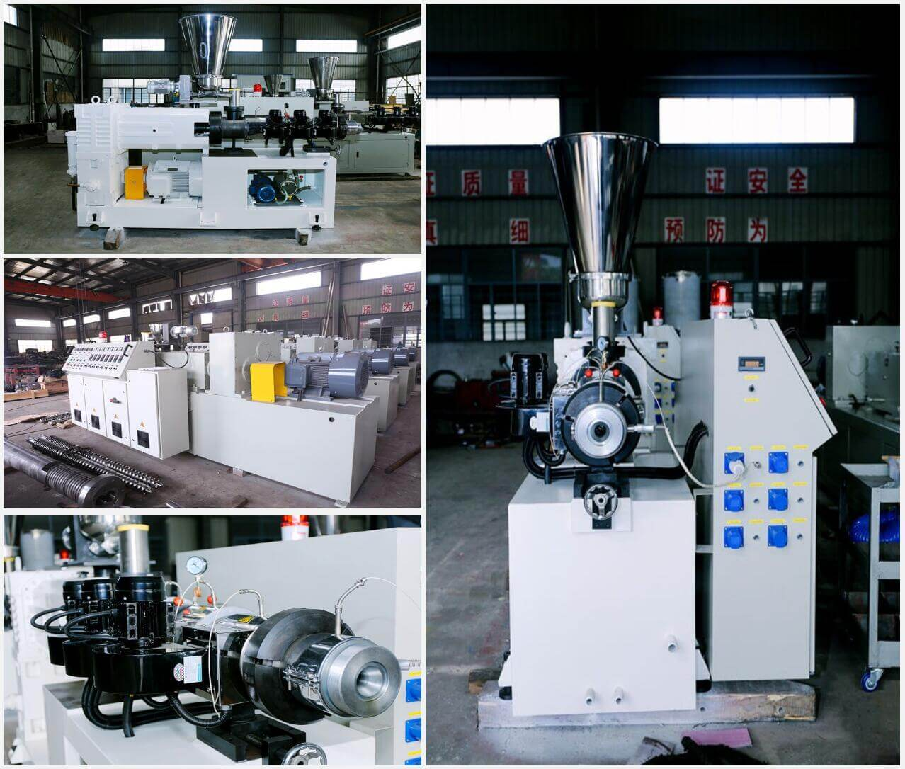 PVC pelletizing or compounding line